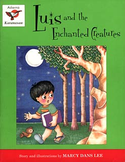 Book Cover of Luis and the Enchanted Creatures