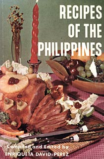 Book Cover of Recipes of the Philippines