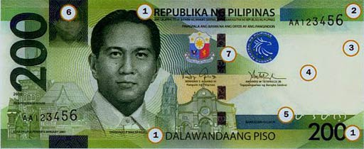 PHP 200 note obverse