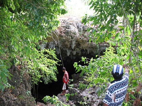 Cave Diving in Antequera, Bohol