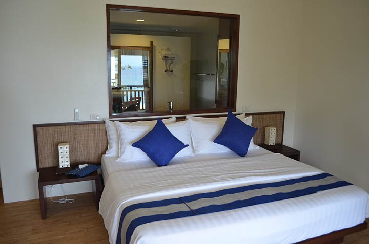 Bedroom at amun ini Resort