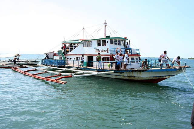 Outrigger Ferry