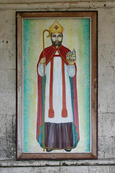 Albur Church Painting