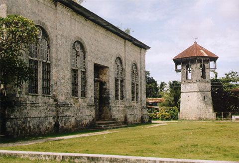 Dauis Church from the back