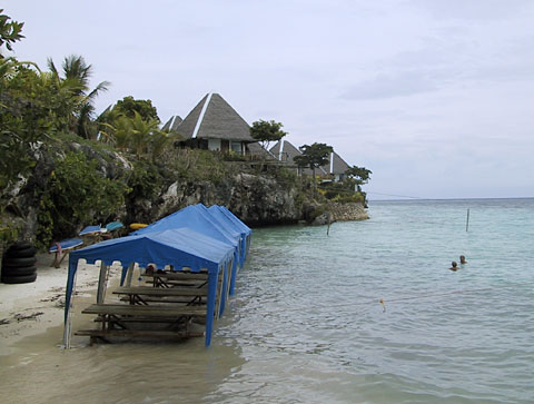 Beach at Panglao Island Nature Resort