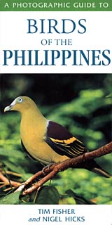 Book Cover of Tim Fisher and Nigel Hicks: Birds of the Philippines