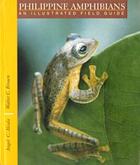 Book Cover of Angel Alcala and Walter C Brown: Philippine Amphibians